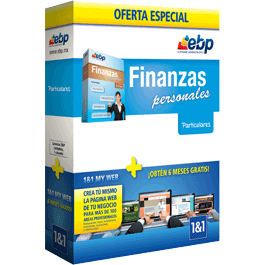 EBP Finanzas personales + 1and1 my web business